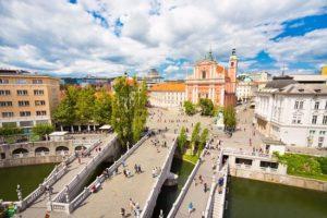 Ljubljana Prešeren Square