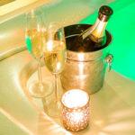 Villa Aina Bottle of Champagne