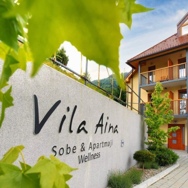 Villa Aina Terrace and Environment