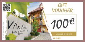 Gift Voucher Villa Aina Price 100e