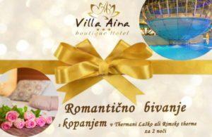 Villa Aina Gift Voucher 2 Nights Swimming