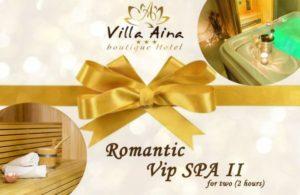 Villa Aina Gift Voucher SPA2 2h